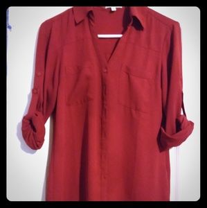Express Portofino regular fit blouse